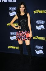 VICTORIA JUSTICE at Pitch Perfect 2 Premiere in Los Angeles