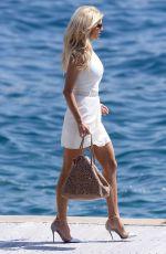 VICTORIA SILVSTEDT Arrives at Hotel Du Cap-eden-roc in Cannes 05/17/2015