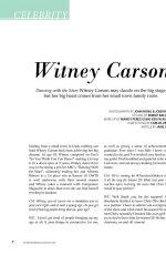 WITNEY CARSON - John Hong Photoshoot for Composure Magazine