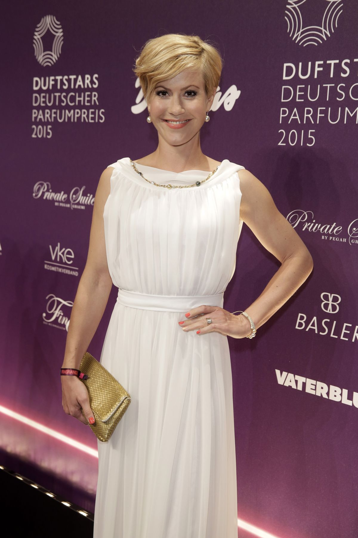 WOLKE HEGENBARTH at Duftstars Award in Berlin