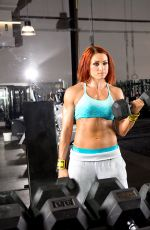 WWE - BECKY LYNCH Trains at The WWE Performance Center