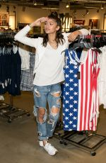 ZENDAYA COLEMAN at Material Girl Summer Collection Launch in Costa Mesa