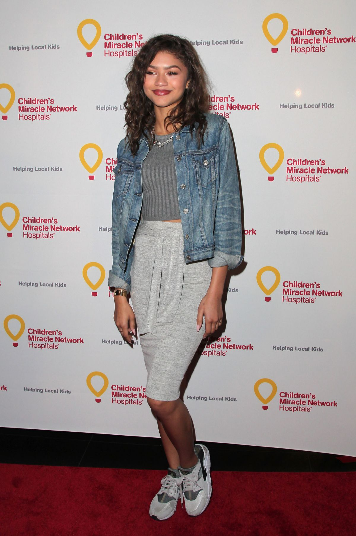 ZENDAYA COLEMAN at Put Your Money where the Miracles Are Campaign Lainch in Hollywood