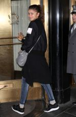ZENDAYA Coleman Night Out in New York 05/04/2015