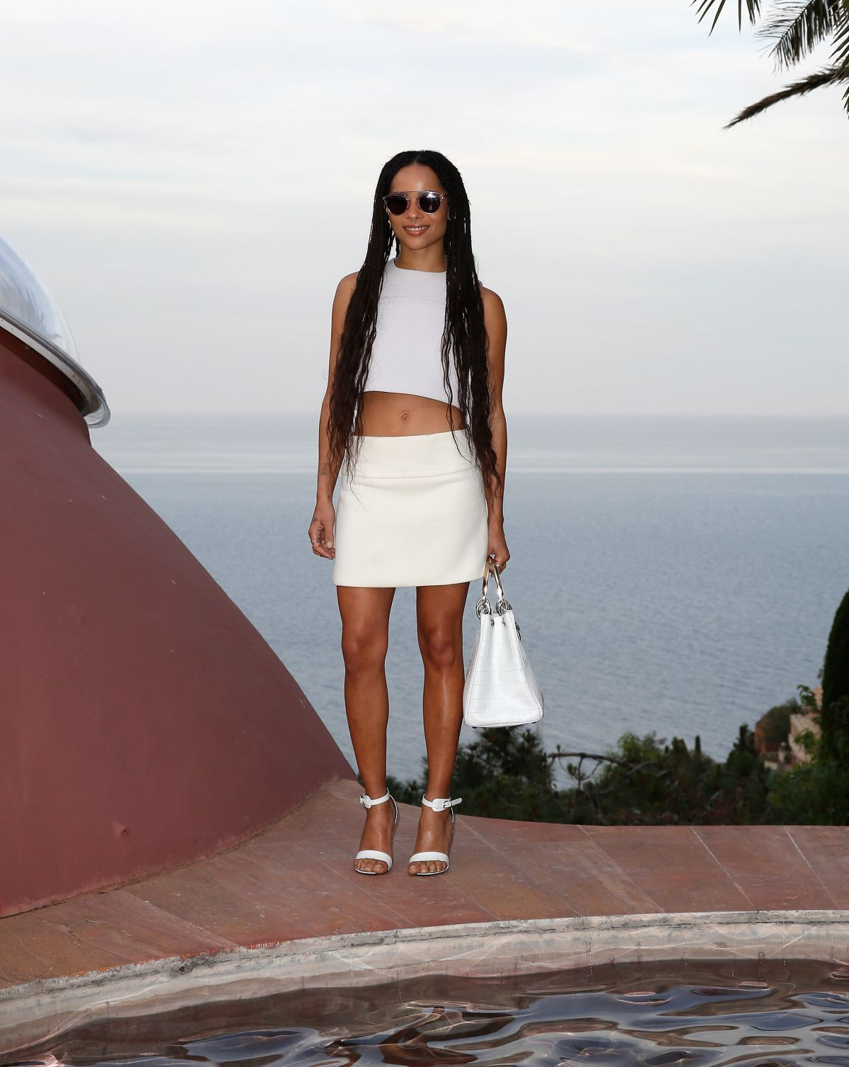 ZOE KRAVITZ at 2016 Dior Cruise Fashion Show in France