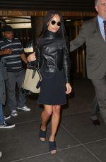 ZOE KRAVITZ at Arrives NBC Studios in New York