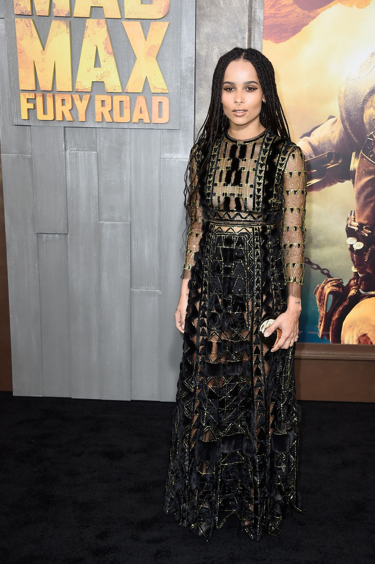 Zoe Kravitz Stepdad: ZOE KRAVITZ At Mad Max: Fury Road Premiere In Hollywood
