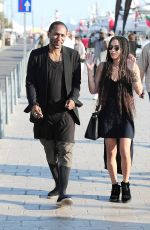 ZOE KRAVITZ Out and About in Cannes 05/17/2015