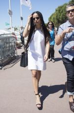 ZOE KRAVITZ Out and About in Cannes 05/22/2015