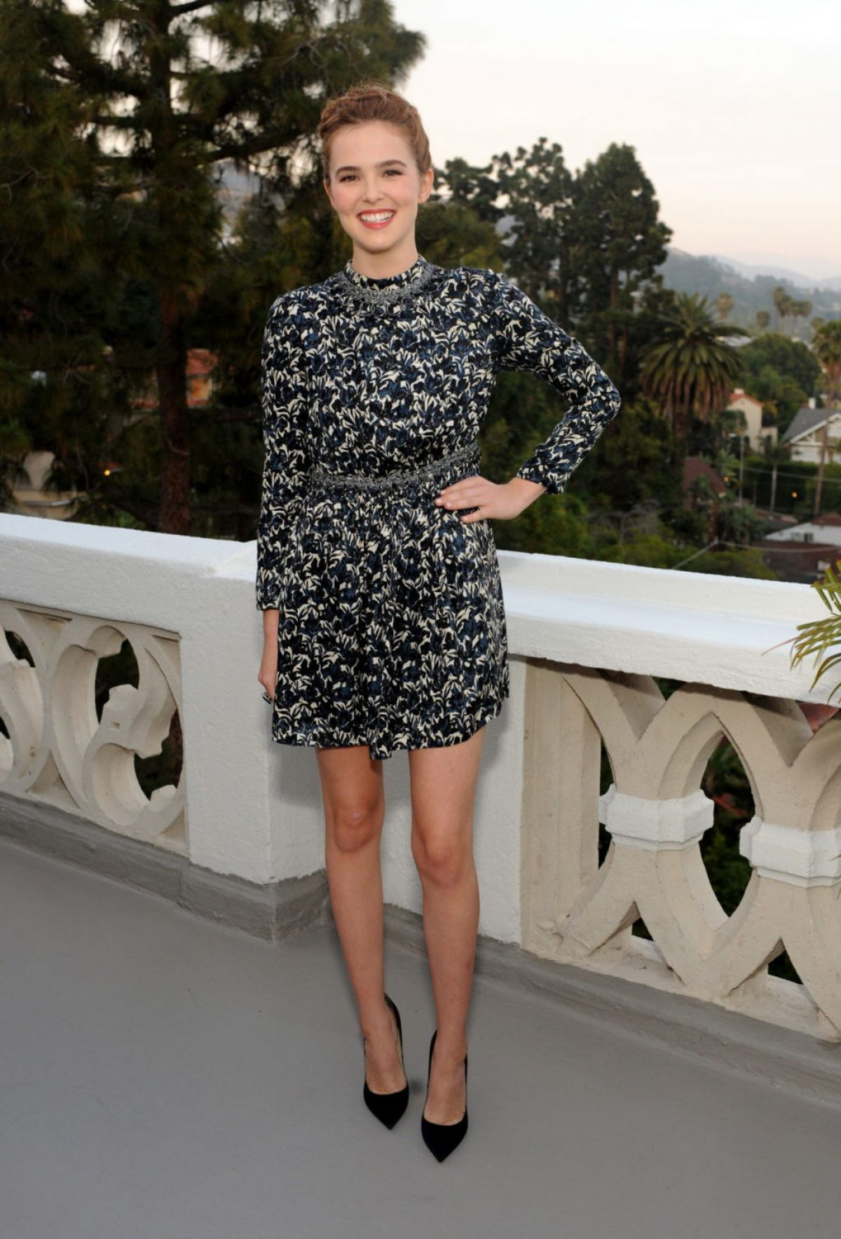 ZOEY DEUTCH at Glamour's June Succes Issue Dinner in Los Angeles