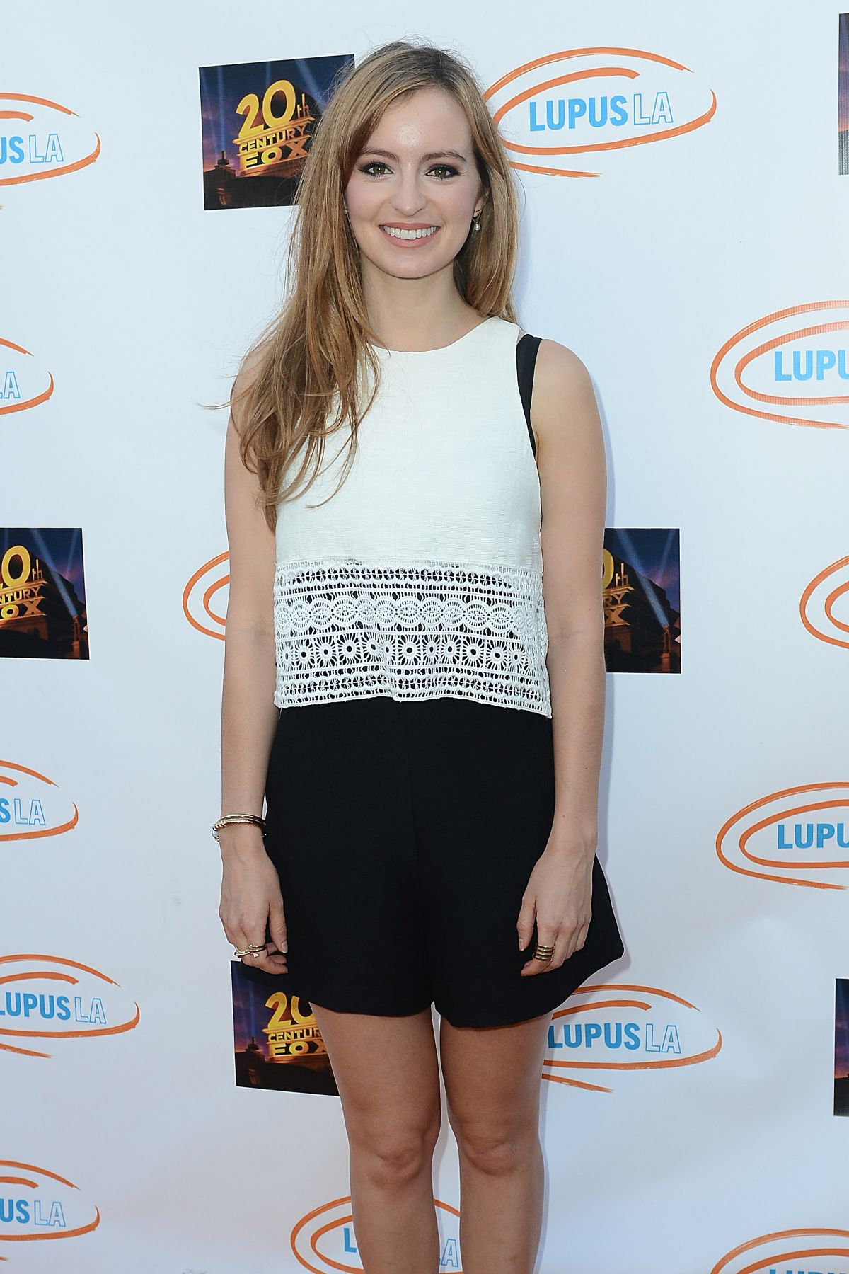 AHNA O'REILLY at Lupus LA's Orange Ball and Night of Superheroes