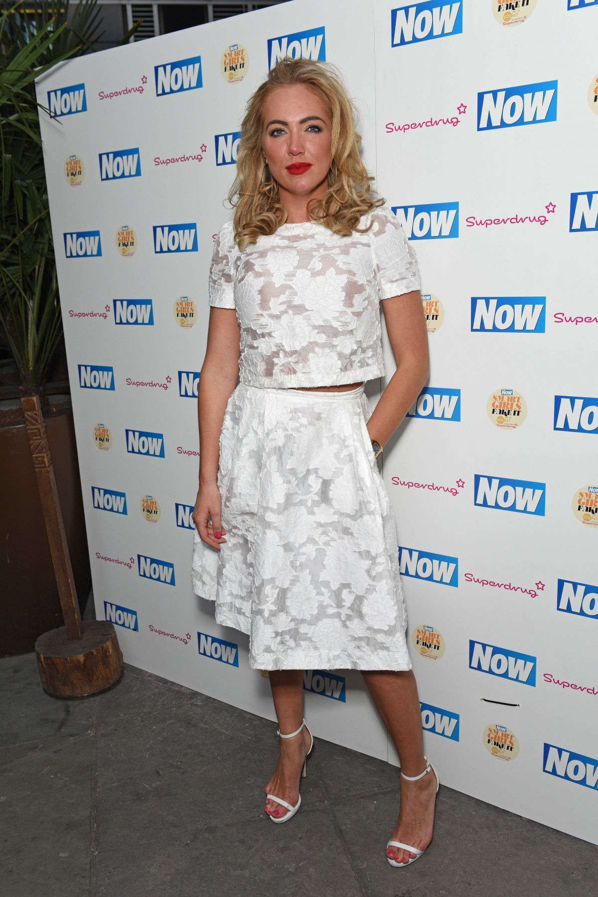 AISLEYNE HORGAN WALLACE at Now Smart Girls Fake it Campaign with Superdrug Solait Launch Party in London