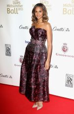 ALESHA DIXON at Together for Short Lives Midsummer Ball in London