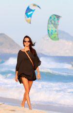 ALESSANDRA AMBROSIO at a Beach in Rio De Janeiro 05/30/2015