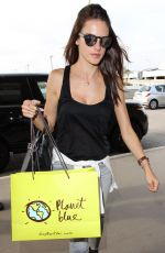 ALESSANDRA AMBROSIO at LAX Airport in Los Angeles 06/12/2015