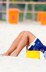 ALESSANDRA AMBROSIO in Bikini at a Beach in Rio De Janeiro