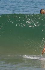 ALESSANDRA AMBROSIO in Bikini on the Beach in Rio De Janeiro 06/24/2015