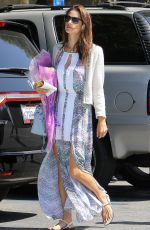 ALESSANDRA AMBROSIO Out and About in Los Angeles 06/07/2015