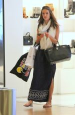 ALESSANDRA AMBROSIO Out Shopping in Rio De Janeiro 06/01/2015