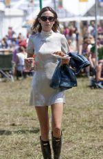 ALEXA CHUNG at 2015 Glastonbury Festival in Somerset