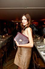 ALEXA CHUNG at Longchamp Dinner in New York 06/23/2015