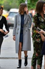ALEXA CHUNG Out and About in New York 06/04/2015
