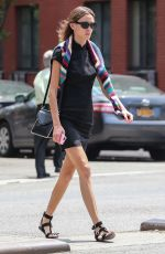 ALEXA CHUNG Out and About in New York 06/08/2015
