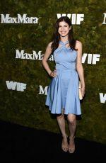 ALEXANDRA DADDARIO at Max Mara Women in Film Face of the Future Award in Hollywood