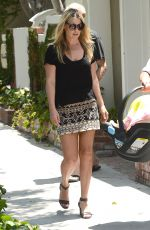 ALI LARTER Out and About in Los Angeles 06/02/2015