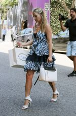 ALI LARTER Out Shopping in Beverly Hills 06/17/2015