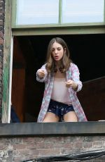 ALISON BRIE on the Set of How To Be Single in Manhattan 06/16/2015