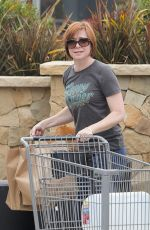 ALYSON HANNIGAN Out Shopping in Malibu 06/12/2015
