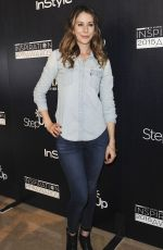 AMANDA CREW at Step Up Women's Inspiration Awards in Beverly Hills
