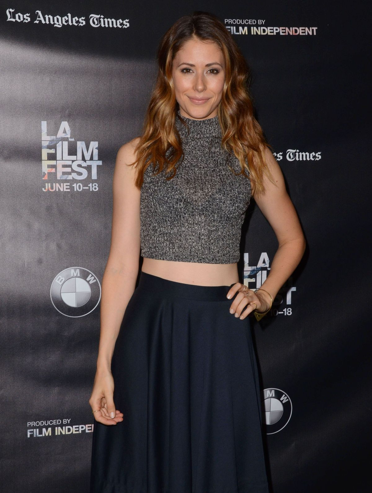 AMANDA CREW at Weepah Way for Now Screening at 2015 LA Film Festival