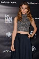 AMANDA CREW at Weepah Way for Now Screening at 2015 LA Film Festival