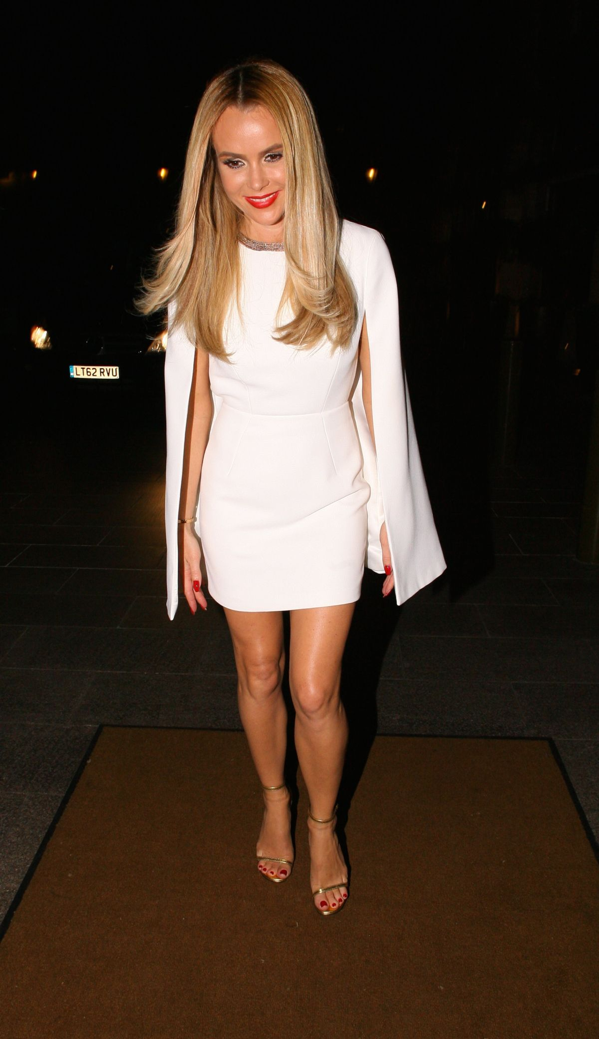 AMANDA HOLDEN Arrives at Britain' Got Talent After Party in London 05/31/2015