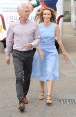AMANDA HOLDEN at ITV Studios in London 06/08/2015
