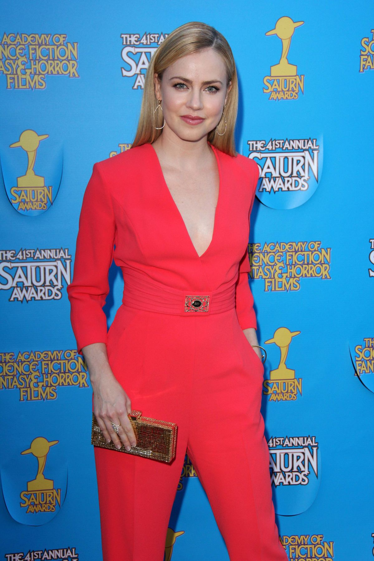 AMANDA SCHULL at 2015 Saturn Awards in Burbank