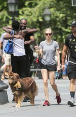 AMANDA SEYFRIED and Finn Out in New York 06/17/2015