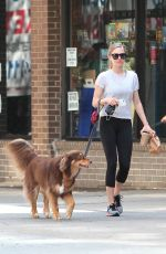 AMANDA SEYFRIED and Finn Out in New York 06/19/2015