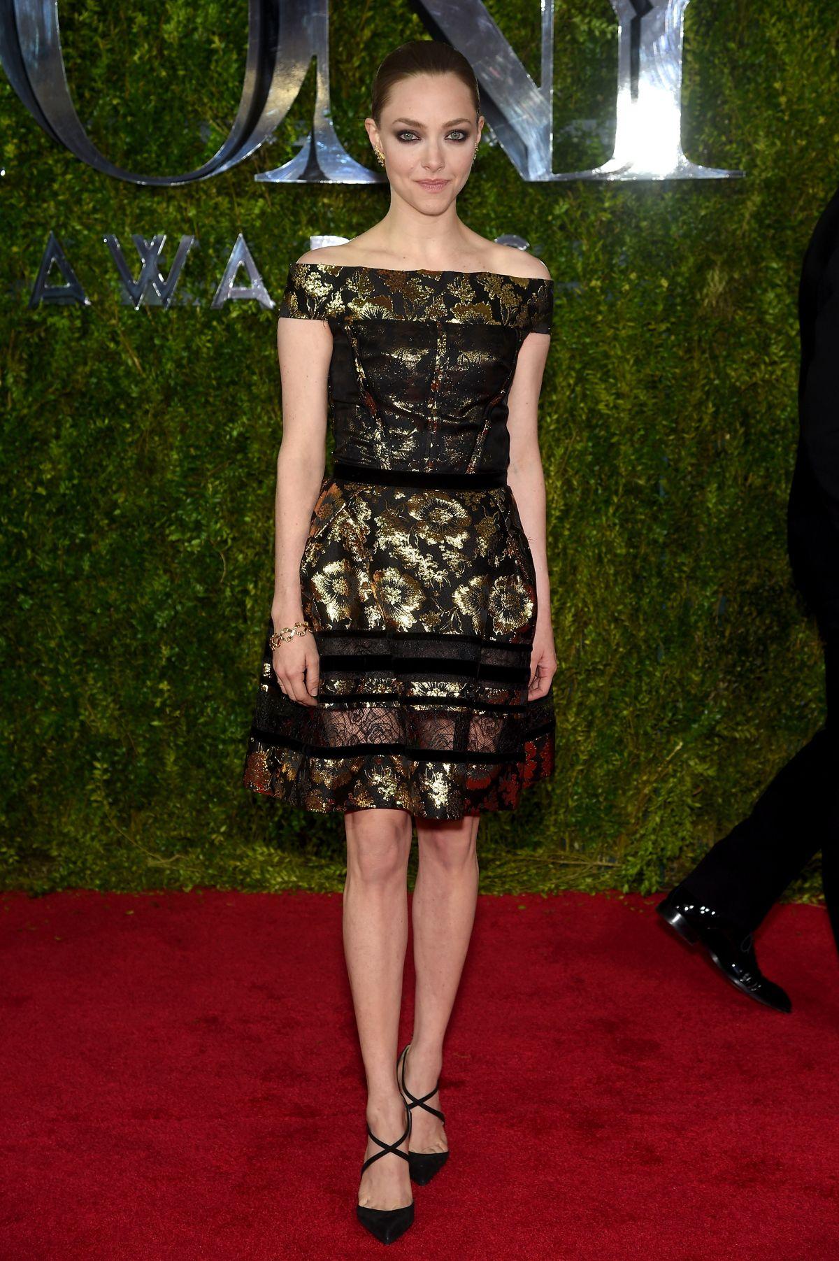 AMANDA SEYFRIED at 2015 Tony Awards in New York