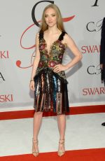 AMANDA SEYFRIED at CFDA Fashion Awards 2015 in New York
