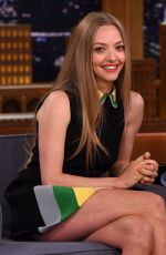 AMANDA SEYFRIED at Tonight Show Starring Jimmy Fallon in New York 06/05/2015
