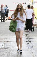 AMANDA SEYFRIED Out and About in New York 06/15/2015