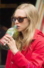 AMANDA SEYFRIED Out and About in New York 06/18/2015