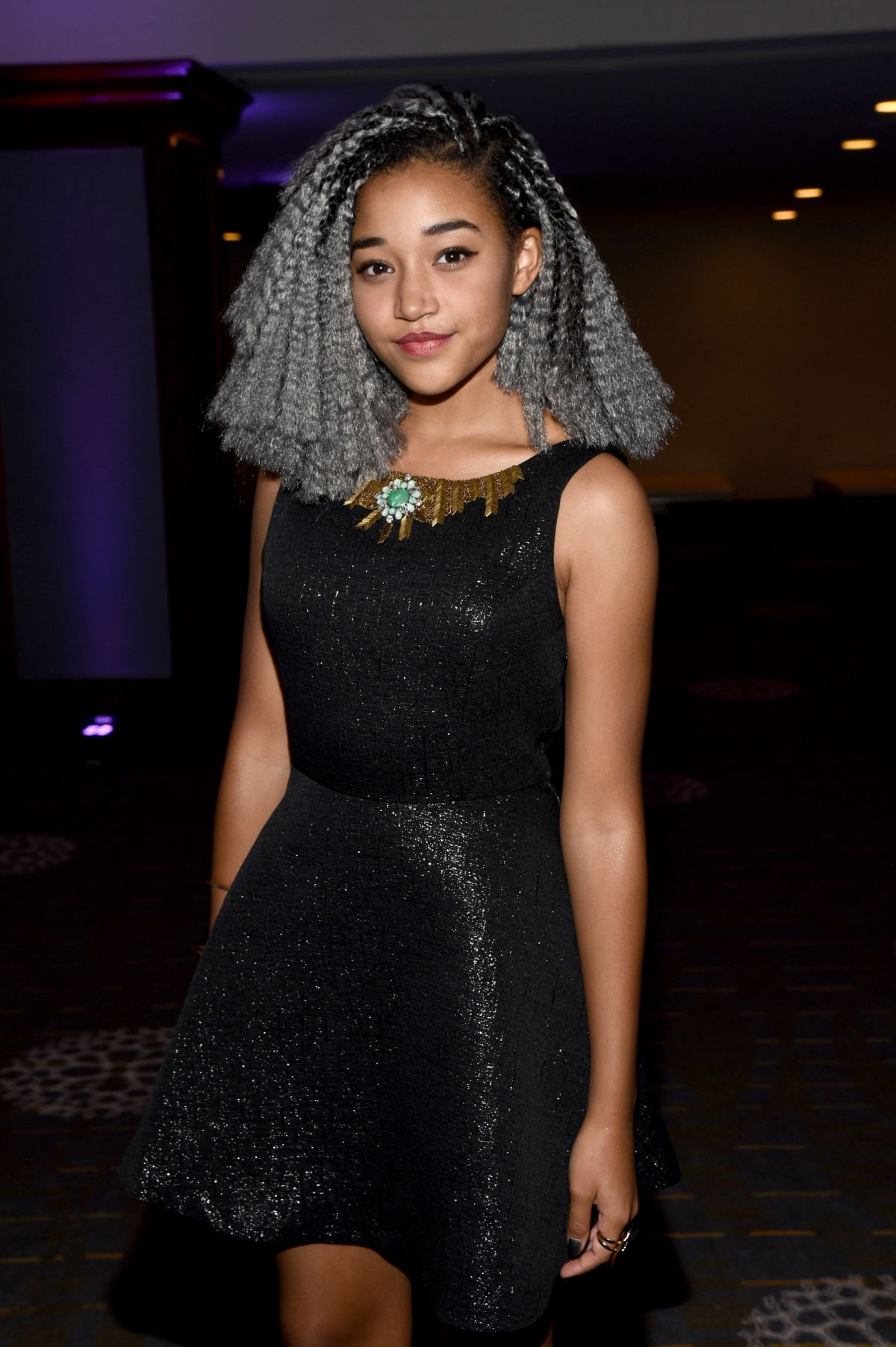 Amandla Stenberg At Women In Film 2015 Crystal Lucy Awards