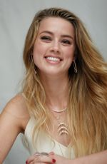 AMBER HEARD a Magic Mike XXL Press Conference in West Hollywood
