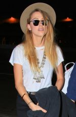 AMBER HEARD at Los Angeles International Airport 06/26/2015