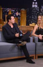 AMBER HEARD at Tonight Show Starring Jimmy Fallon in New York 06/22/2015