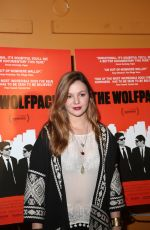 AMBER TAMBLYN at The Wolfpack Premiere in New York